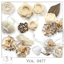 Vol. 0477 Floral Mix by D's Design