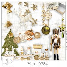 Vol. 0784 Winter Christmas Mix by D's Design