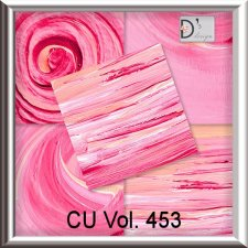 Vol. 453 Pink Painted Papers by Doudou Design