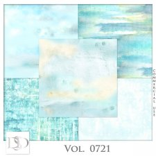 Vol. 0721 Summer Sea Papers by D's Design