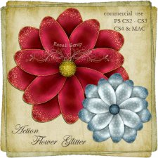 Action - Flower Glitter by Rose.li