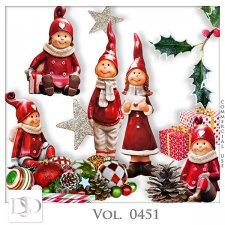 Vol. 0451 Winter Christmas Mix by D's Design