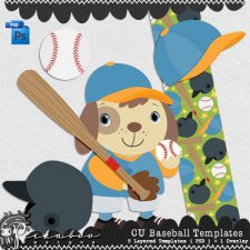 Baseball Layered Template by Peek a Boo Designs