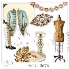 Vol. 0676 Vintage Mix by D's Design