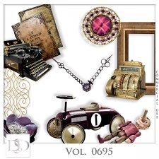 Vol. 0695 Vintage Mix by D's Design