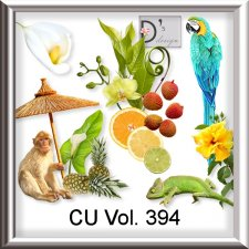 Vol. 394 Exotic Tropical Mix by Doudou Design
