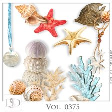 Vol. 0372 to 0377 Sea Mix by D's Design