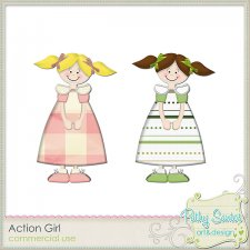 Action Girl by Pathy Design