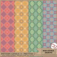 Pattern Genius Paper Volume Eleven by Mad Genius Designs