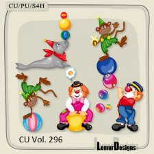 CU Vol 296 Circus Pack 2 by Lemur Designs