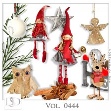Vol. 0443 to 0446 Winter Christmas Mix by D's Design