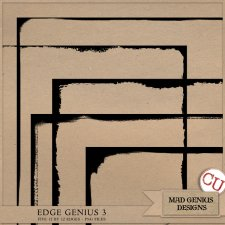 Edge Genius Volume Three by Mad Genius Designs