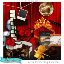Scenic Elements 5 Cinema by Kastagnette