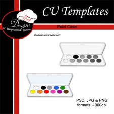Paint Case - CU TEMPLATE by Boop Designs