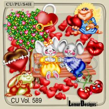 CU Vol 589 Valentine Day Love by Lemur Designs
