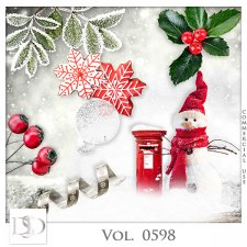 Vol. 0598 Winter Mix by D's Design