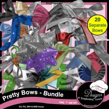 Pretty Bows - BUNDLE by Boop Designs