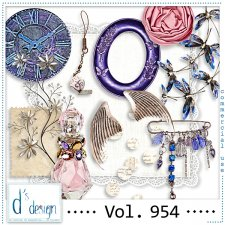 Vol. 954 Vintage Mix by Doudou Design