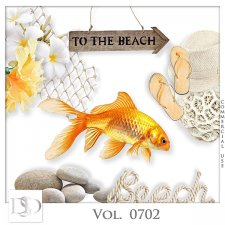 Vol. 0702 Summer Sea Mix by D's Design