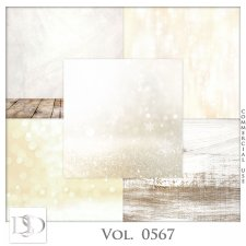 Vol. 0566 to 0568 Winter Papers by D's Design