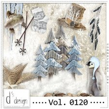 Vol 0120 Winter Mix by Doudou Design
