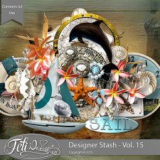 Designer Stash Vol 15 - CU by Feli Designs