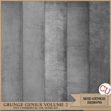 Grunge Genius Volume Two by Mad Genius Designs