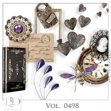 Vol. 0498 Vintage Mix by D's Design