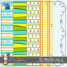 Overlay Pattern Paper Template 05 by Peek a Boo Designs