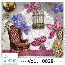Vol. 0028 to 0030 Vintage Mix by Doudou Design