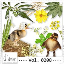 Vol. 0207 to 0209 Nature Mix by Doudou Design
