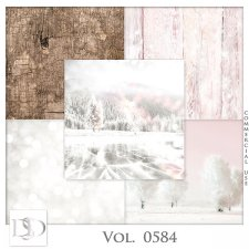 Vol. 0584 Winter Papers by D's Design