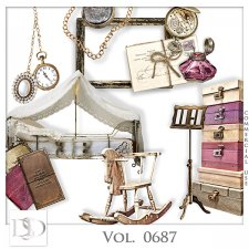 Vol. 0687 Vintage Mix by D's Design
