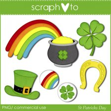 St Patrick's Day by Scraphoto Studio