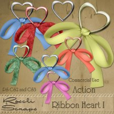 Action - Ribbon In Heart I by Rose.li
