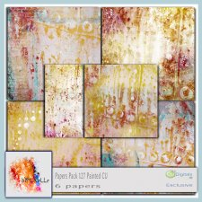 PAPERS vol 127 Painted EXCLUSIVE bymurielle