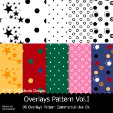 Overlays Pattern Vol.I by Cida Merola