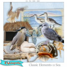 Classic Elements 11 Sea by Kastagnette