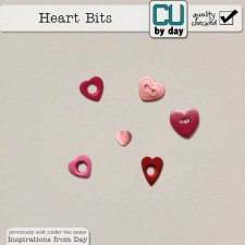 Heart Bits - CUbyDay EXCLUSIVE