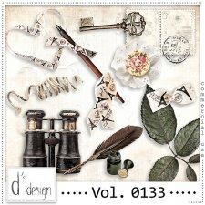 Vol. 0133 Vintage Mix by Doudou Design