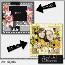 Layout Page Layered Templates Pack No 3