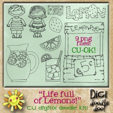 Life full of Lemons CU doodles