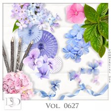 Vol. 0627 Nature Floral Mix by D's Design