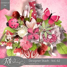 Designer Stash Vol 62 - CU by Feli Designs