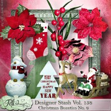 Designer Stash Vol 158 - Christmas Beauties No. 6 by Feli Designs