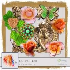 vol 128 Vintage Garden EXCLUSIVE bymurielle