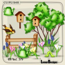 CU Vol 379 Spring Garden Summer by Lemur Designs