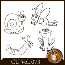 CU Vol 073 Doodles Insects Animals by Lemur Designs