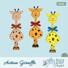 Action Giraffe by Pathy Design