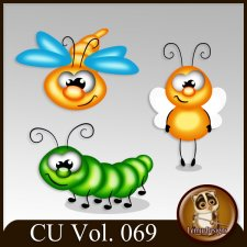 CU Vol 069 Animals Pack 25 by Lemur Designs